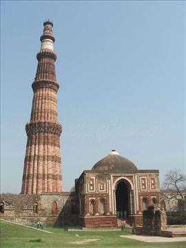 Qutab-Minar, Delhi