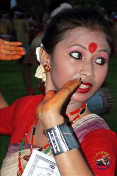 Bihu dancer