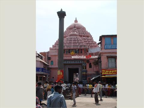 A temple at Puri