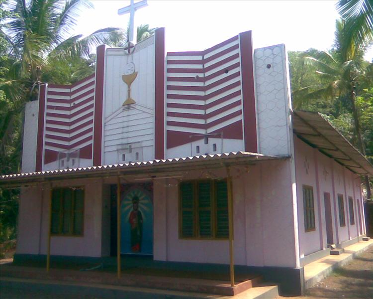 Choorithode, (Kakkachal) St Jude`s church Choorith