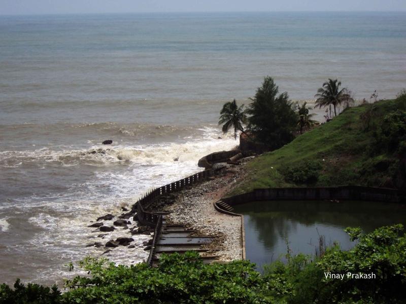 Murudeshwar Beach_Ariel View