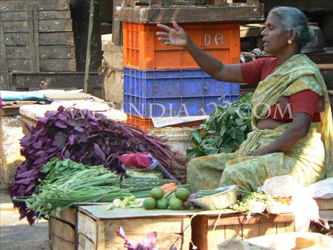 Street Seller Woman