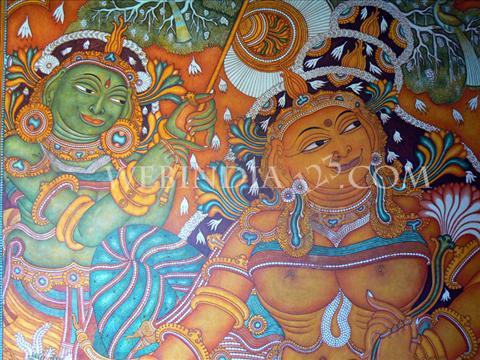 Painting - Kerala