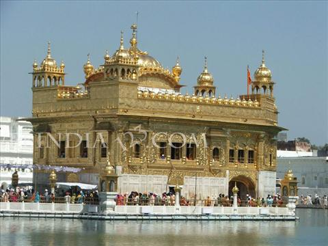 golden temple. The Golden Temple - Amritsar