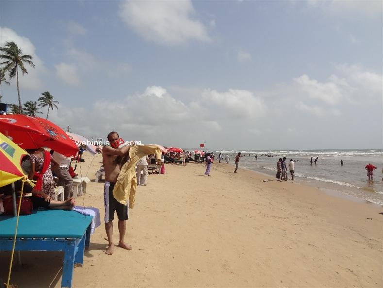 Baga Beach In Panjim Goa Beach Activities