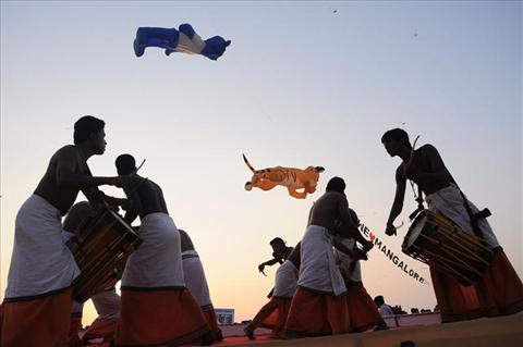 International kite festival.