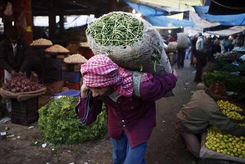 Typical Indian Veg Market