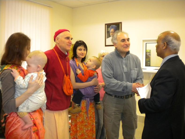 Chairman of Vedic Society, Suren Karapetyan