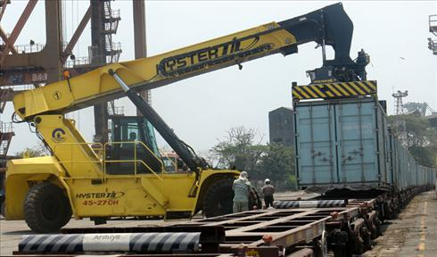 Container Train service from North India to Cochin